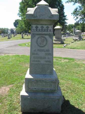 BRIGGS, J. TAYLOR - Bucks County, Pennsylvania   J. TAYLOR BRIGGS - Pennsylvania Gravestone Photos