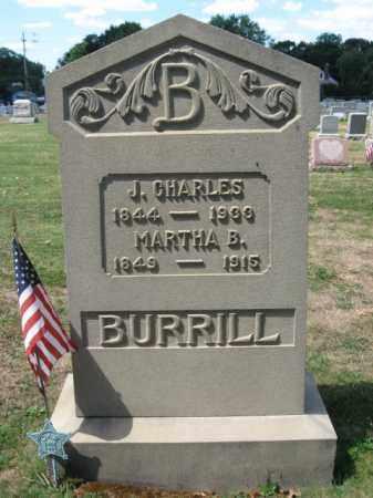 BURRILL (CW), JOHN CHARLES - Bucks County, Pennsylvania | JOHN CHARLES BURRILL (CW) - Pennsylvania Gravestone Photos