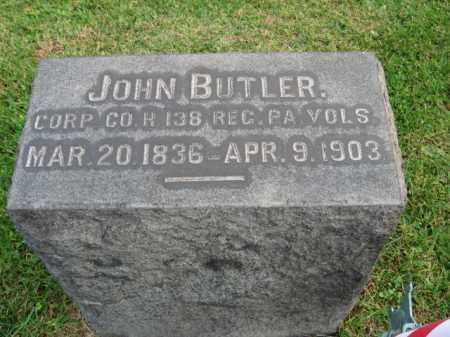 BUTLER, CORP. JOHN - Bucks County, Pennsylvania | CORP. JOHN BUTLER - Pennsylvania Gravestone Photos