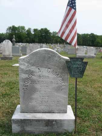 CAMPBELL, GEORGE A. - Bucks County, Pennsylvania   GEORGE A. CAMPBELL - Pennsylvania Gravestone Photos