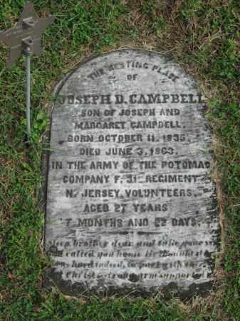 CAMPBELL, JOSEPH D. - Bucks County, Pennsylvania | JOSEPH D. CAMPBELL - Pennsylvania Gravestone Photos