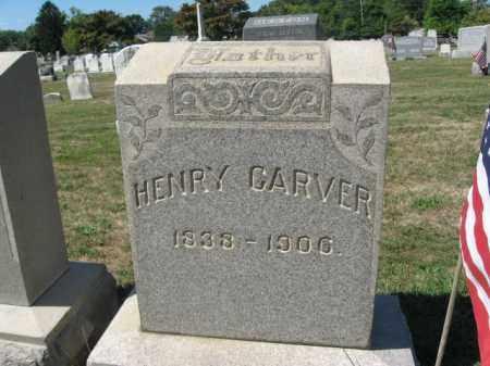 CARVER (CW), HENRY - Bucks County, Pennsylvania | HENRY CARVER (CW) - Pennsylvania Gravestone Photos