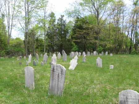 CEMETERY VIEW, HILLPOT - Bucks County, Pennsylvania | HILLPOT CEMETERY VIEW - Pennsylvania Gravestone Photos