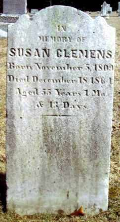 CLEMENS, SUSAN - Bucks County, Pennsylvania | SUSAN CLEMENS - Pennsylvania Gravestone Photos