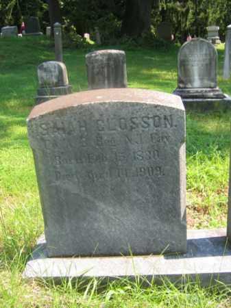 CLOSSON (CW), ISAIAH - Bucks County, Pennsylvania | ISAIAH CLOSSON (CW) - Pennsylvania Gravestone Photos