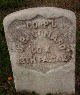 CONARD (CW), JOHN  P. - Bucks County, Pennsylvania | JOHN  P. CONARD (CW) - Pennsylvania Gravestone Photos