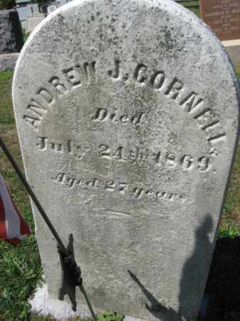 CORNELL (CW), ANDREW J. - Bucks County, Pennsylvania | ANDREW J. CORNELL (CW) - Pennsylvania Gravestone Photos