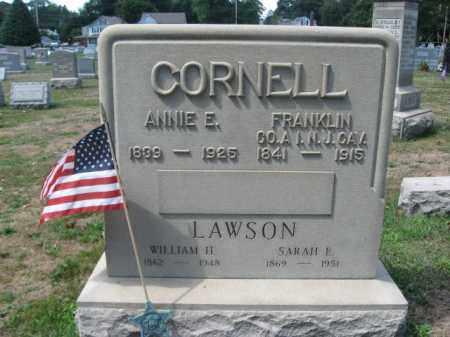 CORNELL (CW), FRANKLIN - Bucks County, Pennsylvania | FRANKLIN CORNELL (CW) - Pennsylvania Gravestone Photos