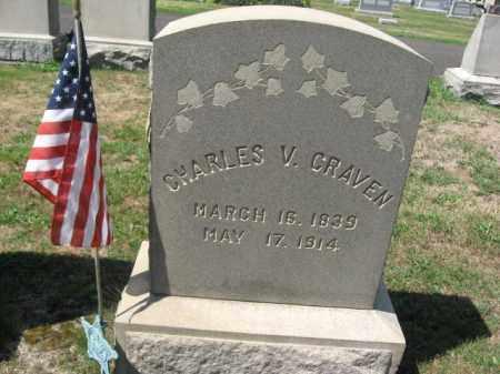 CRAVEN (CW), CHARLES V. - Bucks County, Pennsylvania   CHARLES V. CRAVEN (CW) - Pennsylvania Gravestone Photos