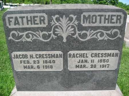 CRESSMAN, JACOB H. - Bucks County, Pennsylvania | JACOB H. CRESSMAN - Pennsylvania Gravestone Photos