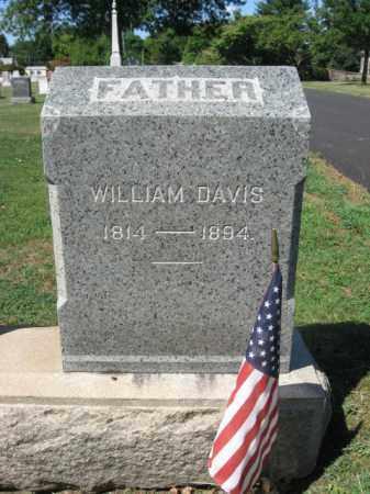 DAVIS, WILLIAM - Bucks County, Pennsylvania | WILLIAM DAVIS - Pennsylvania Gravestone Photos