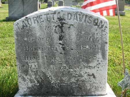 DAVISON, TAURETTA - Bucks County, Pennsylvania | TAURETTA DAVISON - Pennsylvania Gravestone Photos