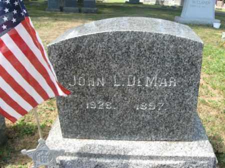 DEMAR (CW), JOHN L. - Bucks County, Pennsylvania | JOHN L. DEMAR (CW) - Pennsylvania Gravestone Photos