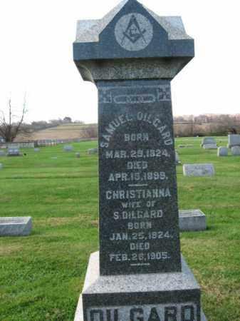 DILGARD, CHRISTIANNA - Bucks County, Pennsylvania | CHRISTIANNA DILGARD - Pennsylvania Gravestone Photos