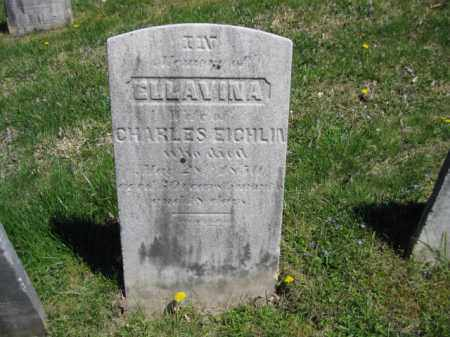EICHLIN, ELLAVINA - Bucks County, Pennsylvania | ELLAVINA EICHLIN - Pennsylvania Gravestone Photos
