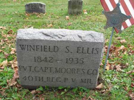ELLIS (CW), WINFIELD S. - Bucks County, Pennsylvania   WINFIELD S. ELLIS (CW) - Pennsylvania Gravestone Photos