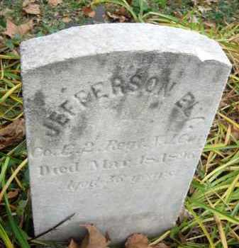 ELY (CW), JEFFERSON - Bucks County, Pennsylvania | JEFFERSON ELY (CW) - Pennsylvania Gravestone Photos