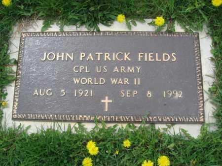 FIELDS (WW II), JOHN - Bucks County, Pennsylvania | JOHN FIELDS (WW II) - Pennsylvania Gravestone Photos