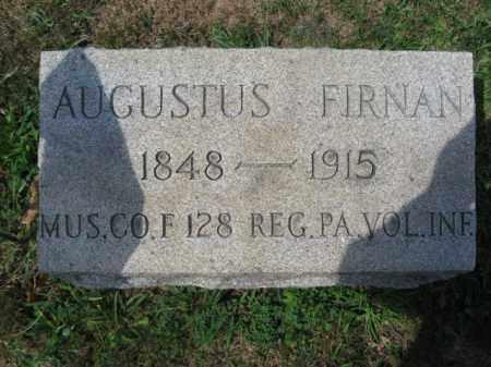 FIRNAN (CW), AUGUSTUS - Bucks County, Pennsylvania | AUGUSTUS FIRNAN (CW) - Pennsylvania Gravestone Photos