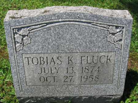 FLUCK, TOBIAS K. - Bucks County, Pennsylvania | TOBIAS K. FLUCK - Pennsylvania Gravestone Photos