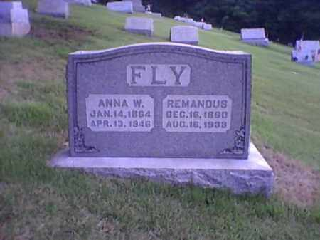 FLY, ANNA W. - Bucks County, Pennsylvania | ANNA W. FLY - Pennsylvania Gravestone Photos