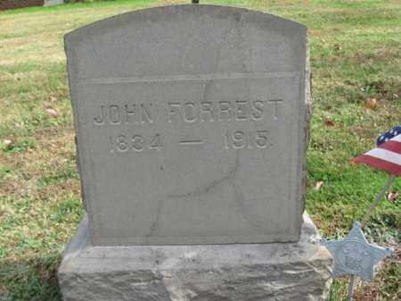 FORREST, JOHN - Bucks County, Pennsylvania   JOHN FORREST - Pennsylvania Gravestone Photos