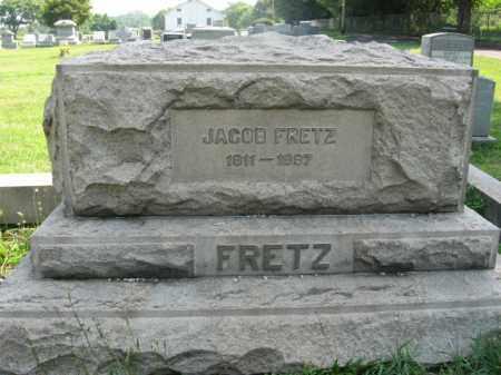 FRETZ, JACOB - Bucks County, Pennsylvania | JACOB FRETZ - Pennsylvania Gravestone Photos