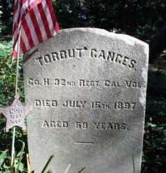 GANGES (CW), TORBUT (TORBERT) - Bucks County, Pennsylvania | TORBUT (TORBERT) GANGES (CW) - Pennsylvania Gravestone Photos
