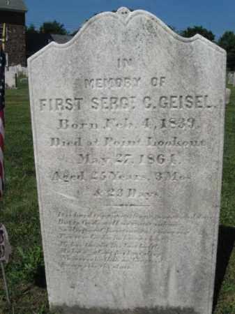 GEISEL (CW), CHRISTIAN - Bucks County, Pennsylvania | CHRISTIAN GEISEL (CW) - Pennsylvania Gravestone Photos