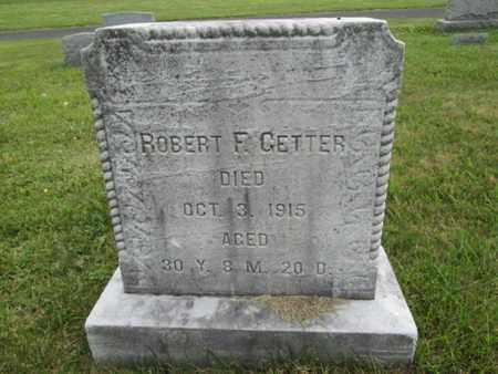 GETTER, ROBERT F. - Bucks County, Pennsylvania | ROBERT F. GETTER - Pennsylvania Gravestone Photos