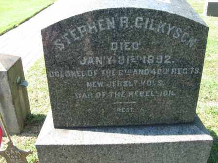 GILKYSON, COLONEL STEPHEN R. - Bucks County, Pennsylvania | COLONEL STEPHEN R. GILKYSON - Pennsylvania Gravestone Photos