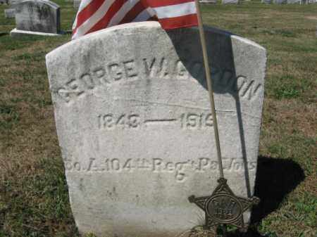 GORDON (CW), GEORGE W. - Bucks County, Pennsylvania | GEORGE W. GORDON (CW) - Pennsylvania Gravestone Photos