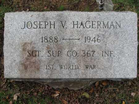 HAGERMAN, JOSEPH V. - Bucks County, Pennsylvania | JOSEPH V. HAGERMAN - Pennsylvania Gravestone Photos