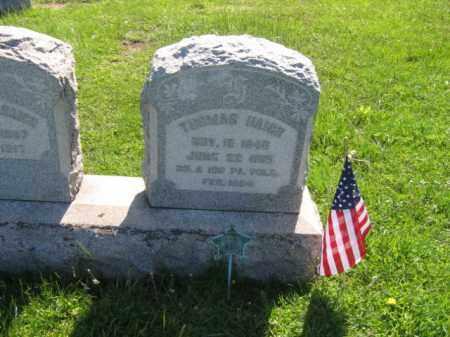 HAIGH (CW), THOMAS - Bucks County, Pennsylvania | THOMAS HAIGH (CW) - Pennsylvania Gravestone Photos