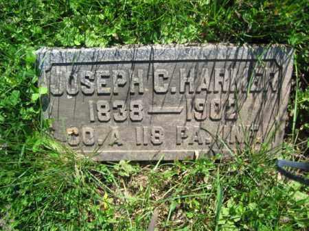 HARMER (CW), JOSEPH C. - Bucks County, Pennsylvania | JOSEPH C. HARMER (CW) - Pennsylvania Gravestone Photos