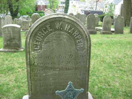 HARPER (CW), GEORGE W. (H) - Bucks County, Pennsylvania | GEORGE W. (H) HARPER (CW) - Pennsylvania Gravestone Photos