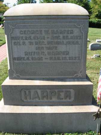 HARPER (CW), GEORGE W. - Bucks County, Pennsylvania | GEORGE W. HARPER (CW) - Pennsylvania Gravestone Photos