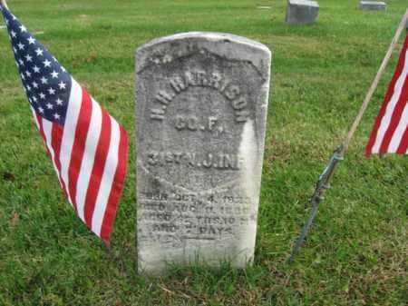 HARRISON, H.H. - Bucks County, Pennsylvania   H.H. HARRISON - Pennsylvania Gravestone Photos