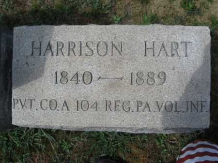 HART (CW), HARRISON - Bucks County, Pennsylvania | HARRISON HART (CW) - Pennsylvania Gravestone Photos