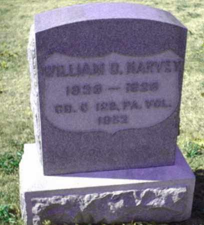 HARVEY (CW), WILLIAM D. - Bucks County, Pennsylvania | WILLIAM D. HARVEY (CW) - Pennsylvania Gravestone Photos