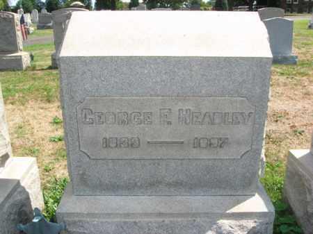 HEADLEY (CW), GEORGE F. - Bucks County, Pennsylvania   GEORGE F. HEADLEY (CW) - Pennsylvania Gravestone Photos