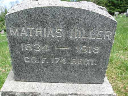 HILLER (HELLER) (CW), MATHIAS - Bucks County, Pennsylvania | MATHIAS HILLER (HELLER) (CW) - Pennsylvania Gravestone Photos