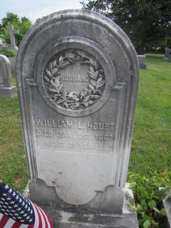 HOUPT (CW), WILLIAM L. - Bucks County, Pennsylvania   WILLIAM L. HOUPT (CW) - Pennsylvania Gravestone Photos