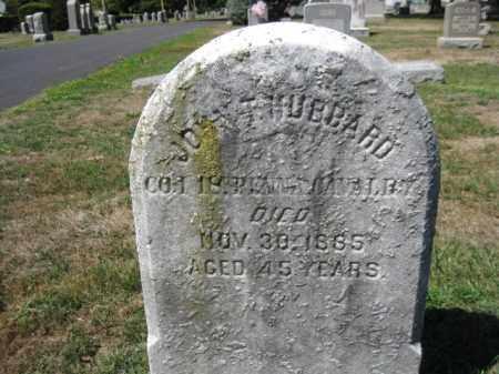 HUBBARD (CW), JOHN T. - Bucks County, Pennsylvania | JOHN T. HUBBARD (CW) - Pennsylvania Gravestone Photos
