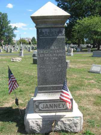 JANNEY (CW), JOHN L. - Bucks County, Pennsylvania   JOHN L. JANNEY (CW) - Pennsylvania Gravestone Photos