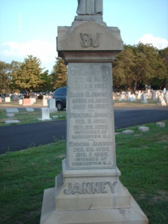 JANNEY (CW), WILLIAM S. - Bucks County, Pennsylvania | WILLIAM S. JANNEY (CW) - Pennsylvania Gravestone Photos