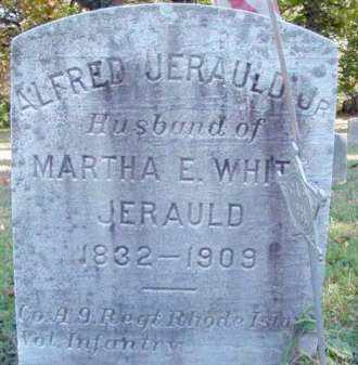 JERAULD,JR. (CW), ALFRED - Bucks County, Pennsylvania | ALFRED JERAULD,JR. (CW) - Pennsylvania Gravestone Photos