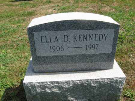 KENNEDY, ELLA D. - Bucks County, Pennsylvania | ELLA D. KENNEDY - Pennsylvania Gravestone Photos