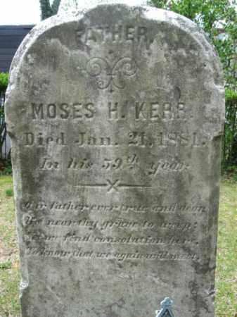 KERR (CW), MOSES  H. - Bucks County, Pennsylvania   MOSES  H. KERR (CW) - Pennsylvania Gravestone Photos