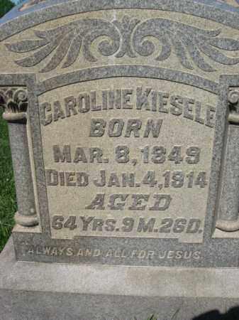 KIESELE, CAROLINE - Bucks County, Pennsylvania   CAROLINE KIESELE - Pennsylvania Gravestone Photos